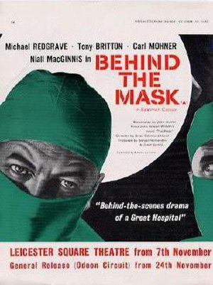 Behind the Mask (1958 film) - Promotional poster