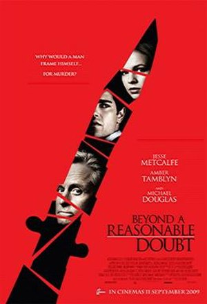 Beyond a Reasonable Doubt (2009 film) - Image: Beyond a Reasonable Doubt 2009 Poster