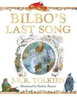 <i>Bilbos Last Song</i> poem
