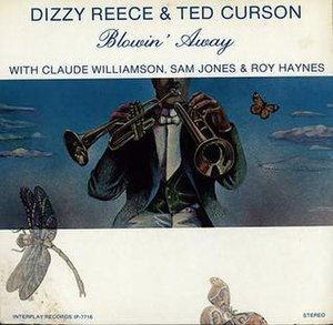 Blowin' Away (Dizzy Reece and Ted Curson album) - Image: Blowin' Away (Dizzy Reece and Ted Curson album)