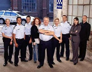 Blue Heelers - Blue Heelers final cast of 2006
