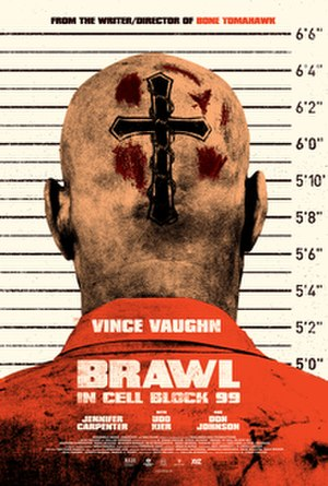 Brawl in Cell Block 99 - Theatrical release poster
