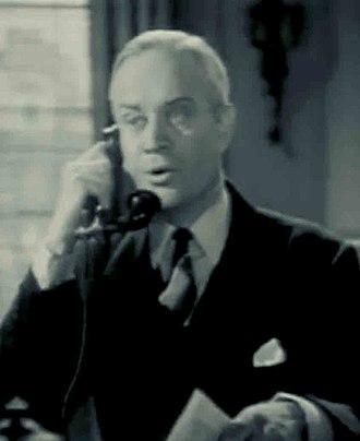 Charles Trowbridge - Trowbridge in Fit for a King (1937)