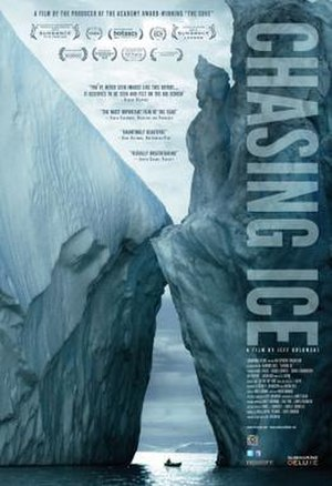 Chasing Ice - Theatrical release poster