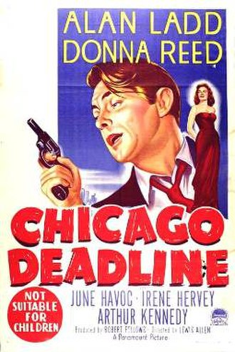 Chicago Deadline - Theatrical release poster