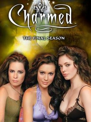 Charmed (season 8) - Promotional poster and home media cover art