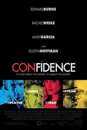 Confidence (2003 film) - Confidence film poster