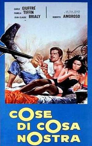 Gang War (1971 film) - Image: Cose di Cosa Nostra 1971