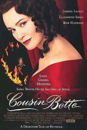 Cousin Bette (film) - Theatrical release poster