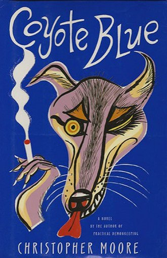 Coyote Blue - Perennial paperback cover