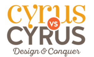Cyrus vs. Cyrus: Design and Conquer - Image: Cyrus vs. Cyrus Design and Conquer logo