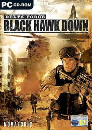 Delta Force: Black Hawk Down - Image: DFBHD Cover