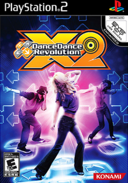 Dance Dance Revolution X2 North American cover artwork.png