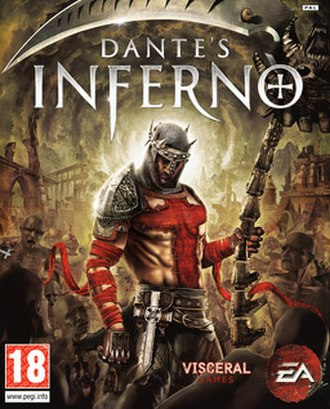 Dante's Inferno (video game) - Cover art featuring protagonist Dante