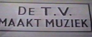 Belgium in the Eurovision Song Contest 1957 - De T.V. Maakt Muziek
