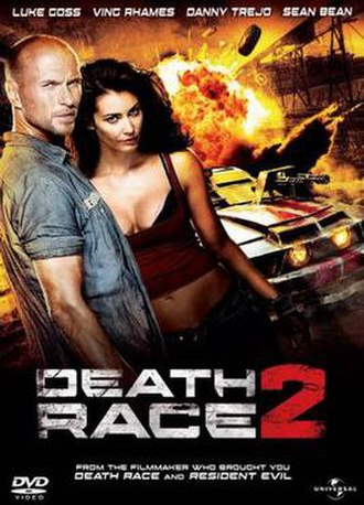 Death Race 2 - DVD cover