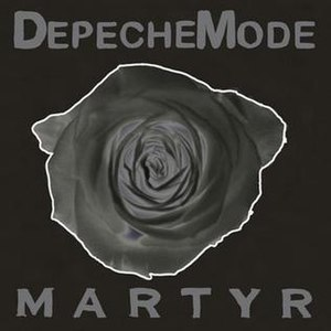 Martyr (song) - Image: Depche martyr single cover front