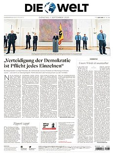 <i>Die Welt</i> German national daily newspaper