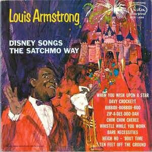 Disney Songs the Satchmo Way - Image: Disney Satchmo