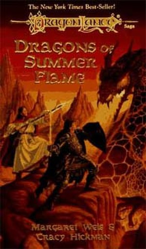 Dragons of Summer Flame - Cover of the first edition