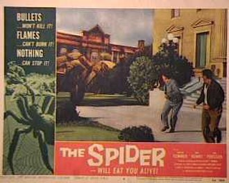 Earth vs. the Spider - Lobby card under the alternate title The Spider