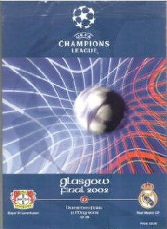 2002 UEFA Champions League Final - Match programme cover