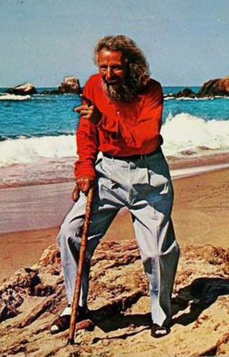 Eiler Larsen - Eiler Larsen as seen on a Laguna Beach postcard ca. 1960.