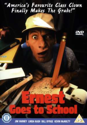 Ernest Goes to School - UK video cover