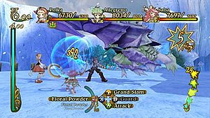 Eternal Sonata - Combat in Eternal Sonata takes place in both lit and shaded areas, affecting the skills the player can use