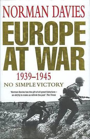 Europe at War 1939–1945: No Simple Victory - Image: Europe At War, 1939 1945