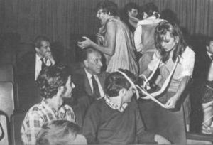 """Torcuato di Tella Institute - An """"experience"""" at the di Tella, where experimental theatre became a 'happening' for hapless audiences."""