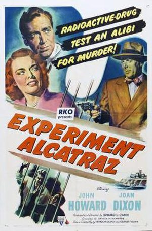 Experiment Alcatraz - Theatrical release poster