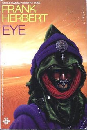 Fremen - Illustration of a Fremen by Jim Burns, featured on the cover of Frank Herbert's short story collection Eye (1985)