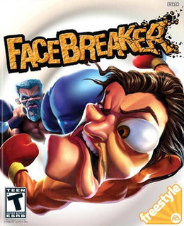 <i>FaceBreaker</i> video game