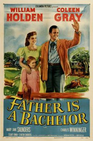 Father Is a Bachelor - Image: Father Is a Bachelor Film Poster