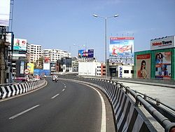 New twin flyovers at Panjagutta circle