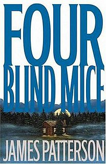 <i>Four Blind Mice</i> book by James Patterson
