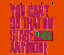 Frank Zappa, You Can't Do That On Stage Anymore 6.jpg