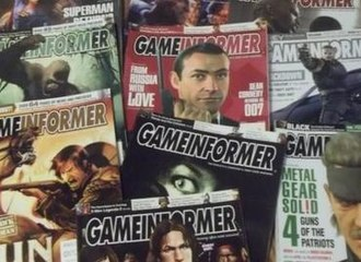 Game Informer covers circa 2005 Gameinformermag.JPG