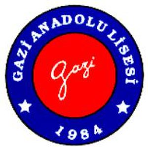 Gazi Anadolu Lisesi -  Logo of Gazi Anatolian High School