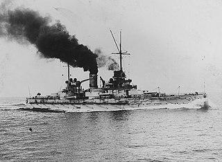 SMS <i>Nassau</i> Nassau-class battleship of the Imperial German Navy