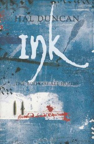 Ink (novel) - Ink first edition cover.