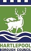 Oficiala emblemo de Urbeto de Hartlepool
