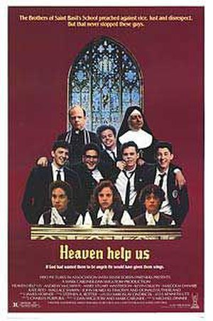 Heaven Help Us - Theatrical release poster