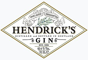 Hendrick's Gin - Image: Hendricks Gin Logo