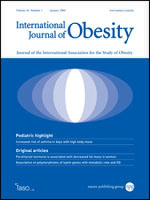 International Journal of Obesity - Image: International Journal of Obesity