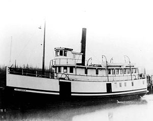 Islander (steamboat) - Image: Islander (steamboat)