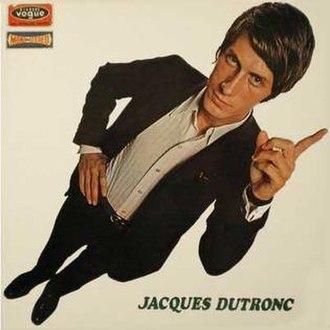 Jacques Dutronc (1966 album) - Image: Jacques Dutronc 1966 album sleeve