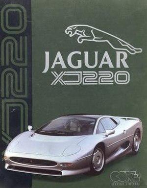 Jaguar XJ220 (video game) - Cover art