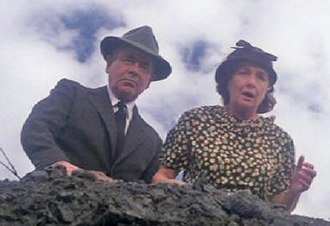 Jonathan and Martha Kent - Glenn Ford as Jonathan Kent with Phyllis Thaxter as Martha in Superman (1978).